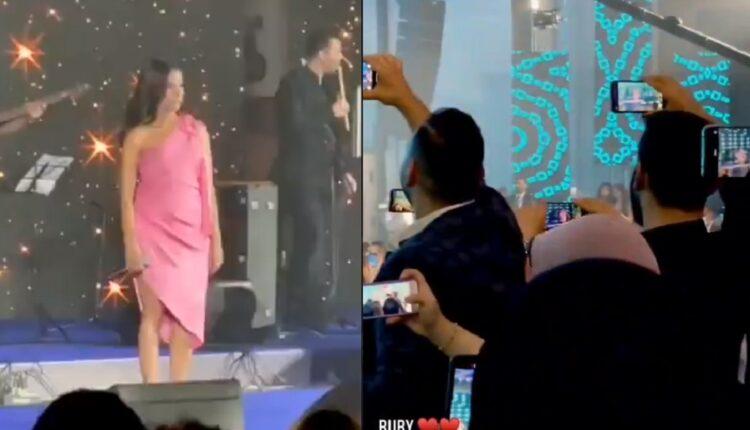 رقص روبي في الحفل الغنائي الذي أحيته في مصر