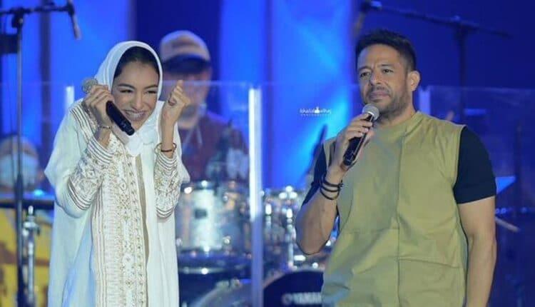 محمد حماقي و زينة عماد