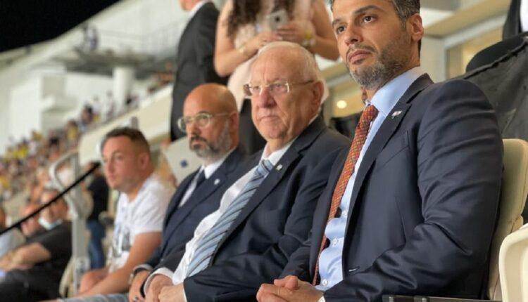 سفير الإمارات والرئيس الاسرائيلي