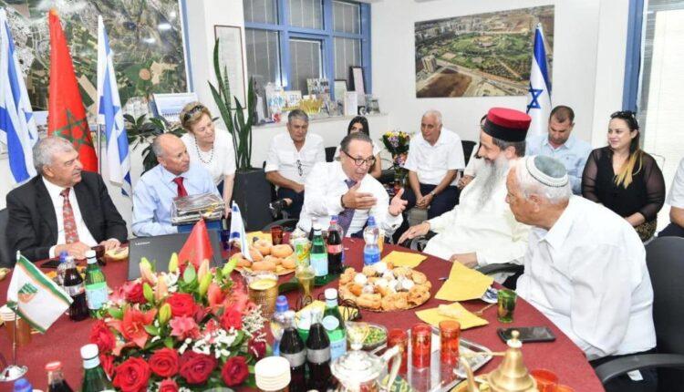 سفير المغرب يزور العفولة لتوثيق علاقات التطبيع