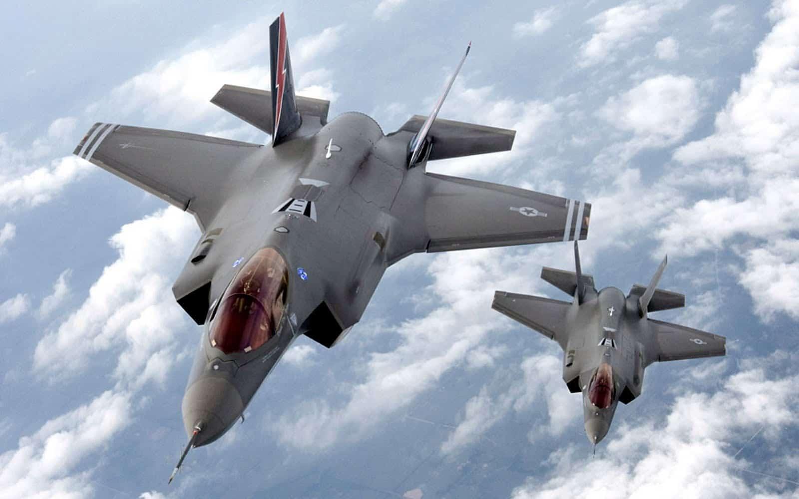 طائرات F35 الحربية