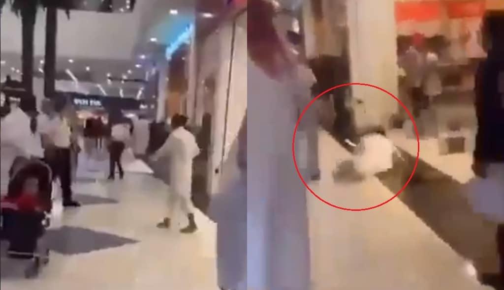 طعن 3 حراس في مجمع تجاري في الدمام