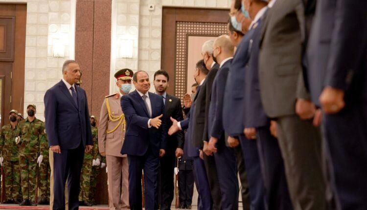 عبدالفتاح السيسي في بغداد