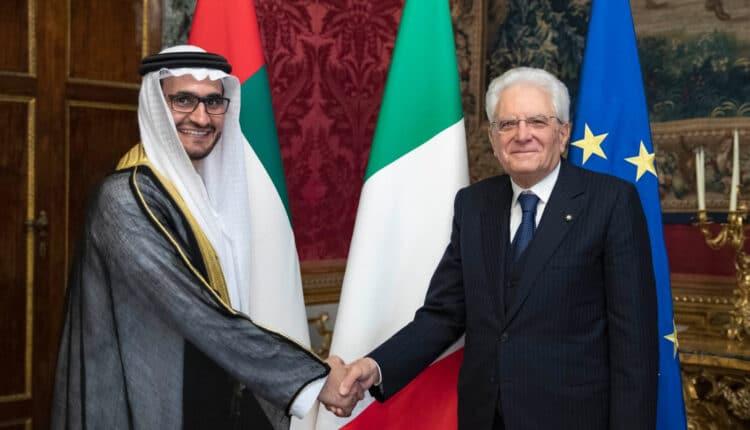عمر الشامسي سفير الإمارات في إيطاليا