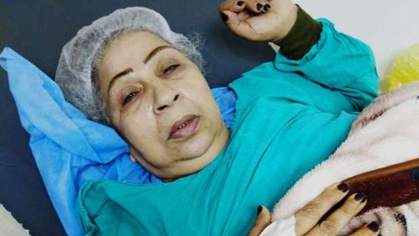 فاطمة كشري في المستشفى
