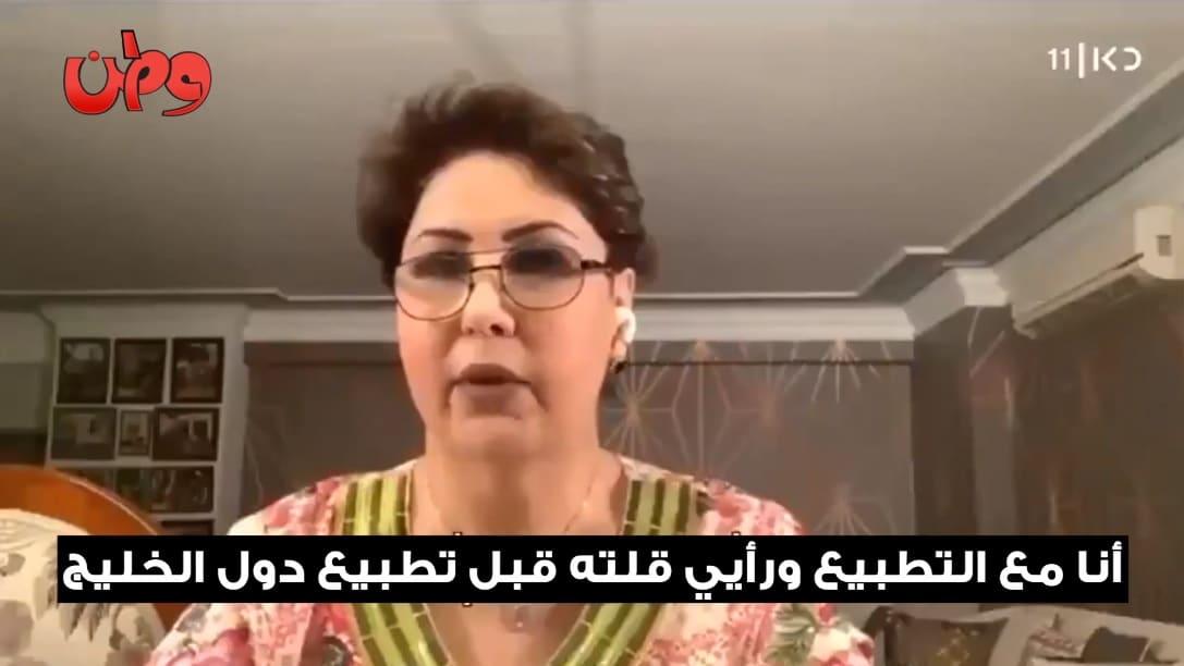 الكويتيون يتبرّأون من فجر السعيد بعد ظهورها على شاشة اسرائيلية: لا تمثلين حتّى عائلتك!