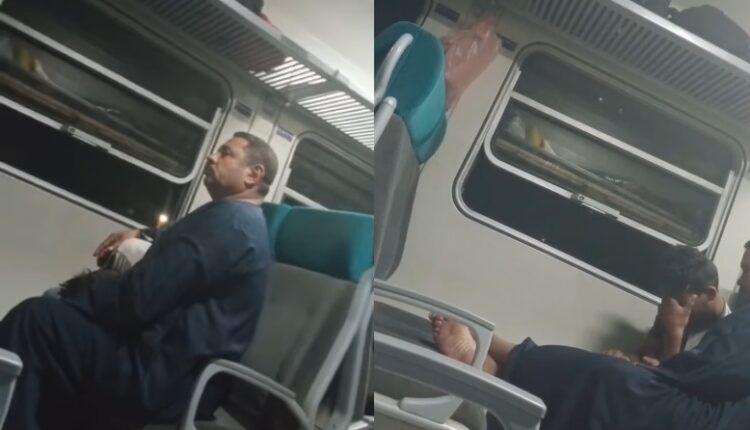فعل فاضح في قطار متجه الجيزة الى أسوان