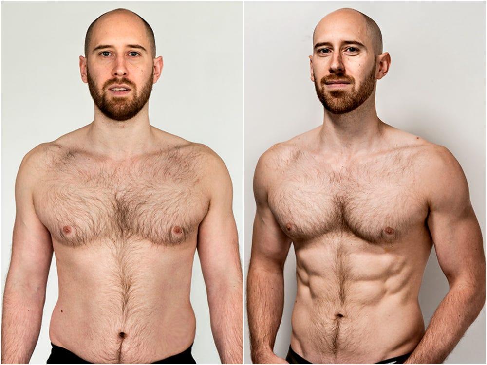 في 5 أسابيع .. شاهدوا كيف يمكنكم خسارة الدهون واكتساب العضلات بدون صالة ألعاب رياضية