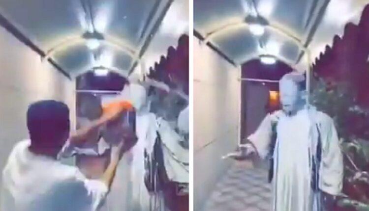 فيديو إهانة عامل سوداني