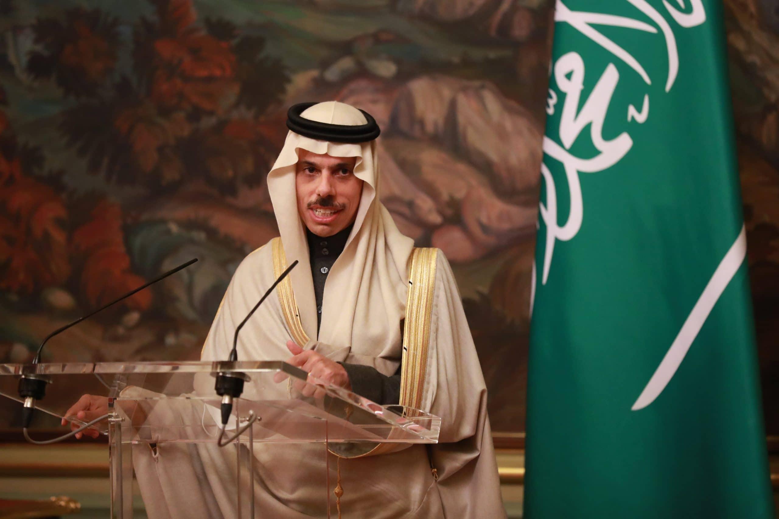 فيصل بن فرحان وزير خارجية السعودية
