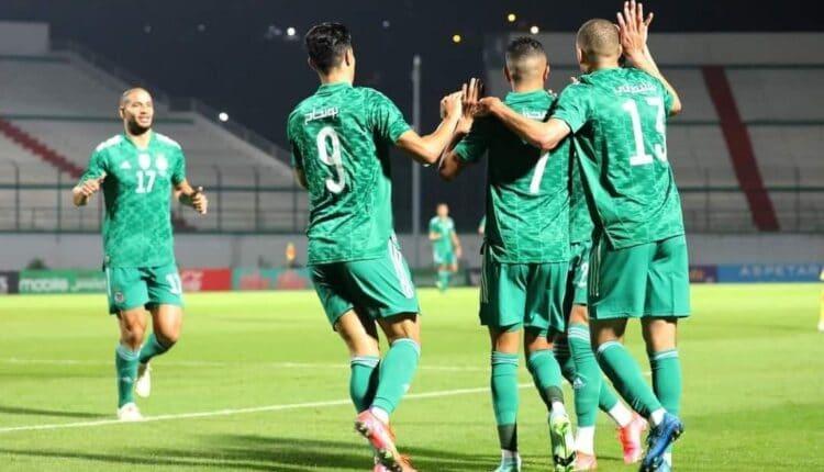الجزائر تحقق الفوز على تونس