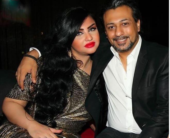 محمد الصيرفي وزوجته