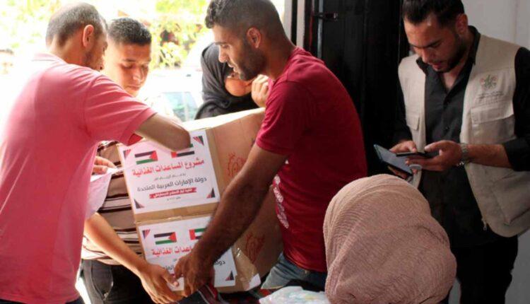 مساعدات الامارات إلى قطاع غزة- لقاح كورونا