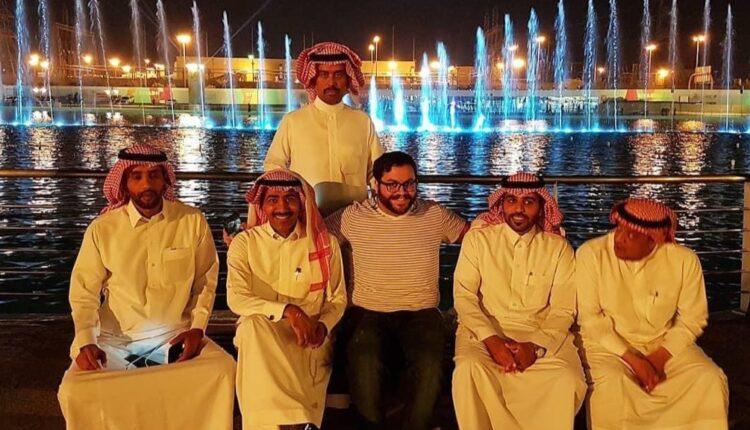 مستوطن اسرائيلي في السعودية