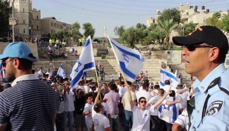 مسيرة الأعلام في القدس المحتلة