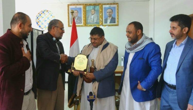 معاذ أبو شمالة ممثل حماس في صنعاء