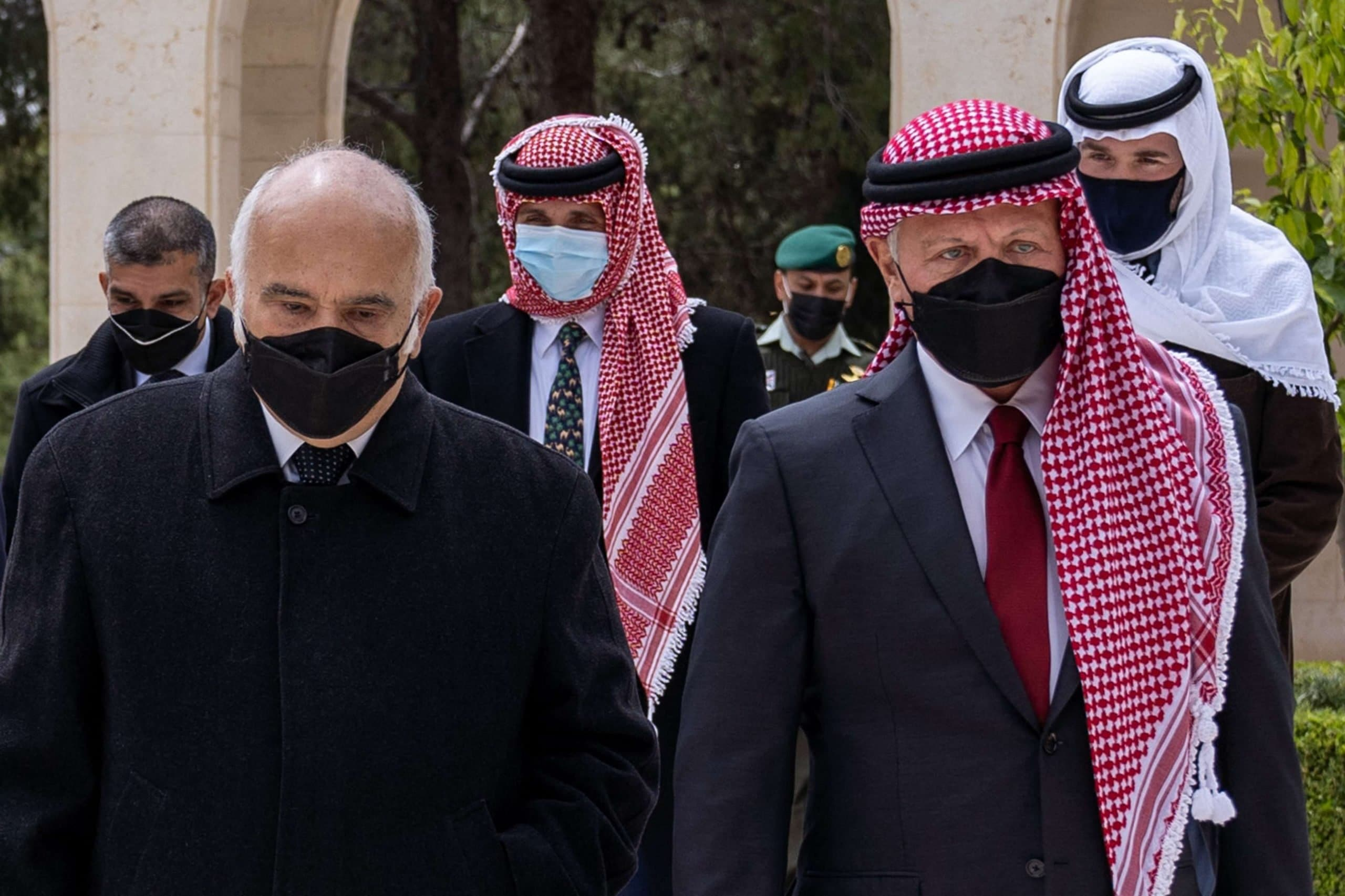 تسجيلات مسربة الأمير حمزة والشريف حسن