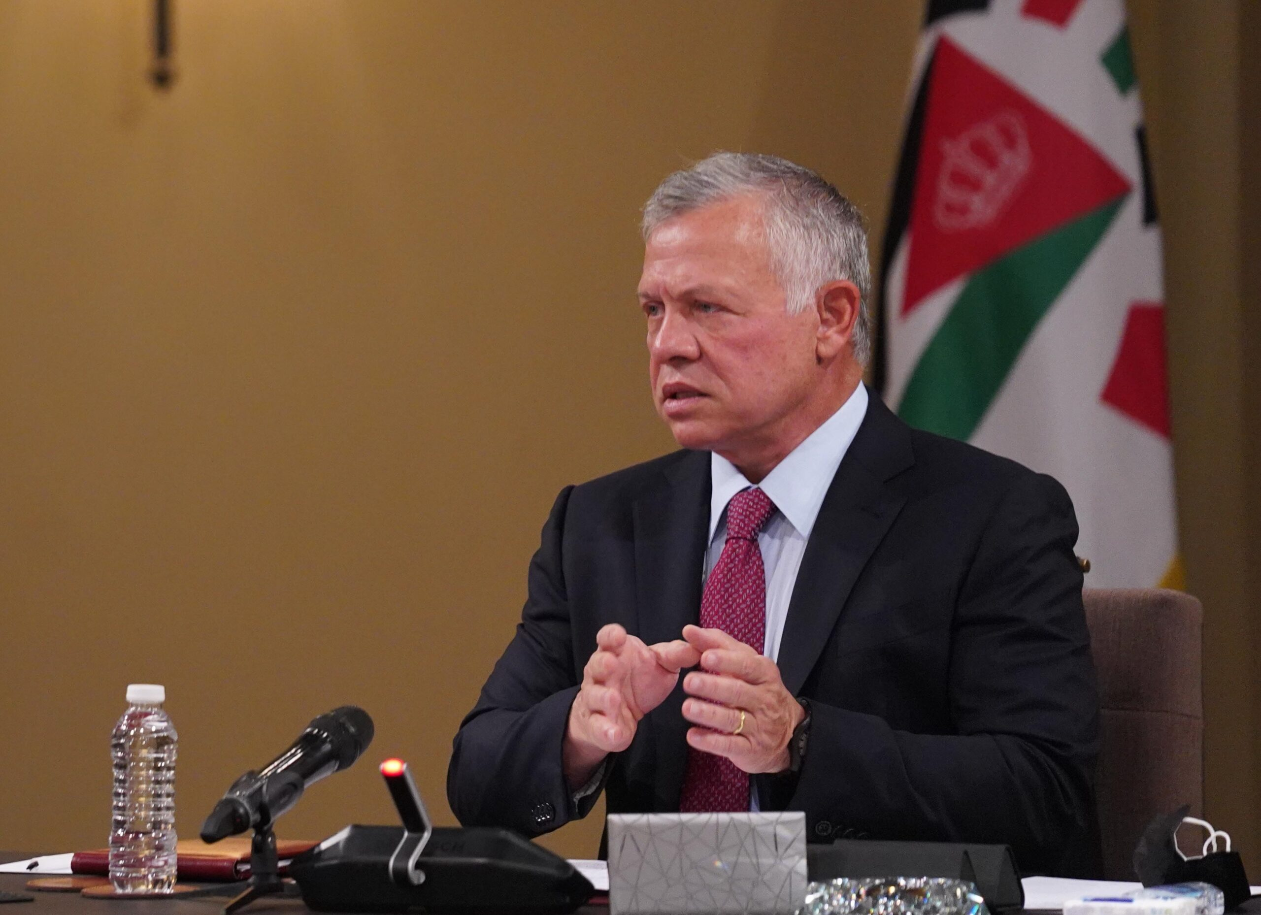 """الملك عبدالله الثاني يكشف عن مؤامرة كانت تحاك لإضعاف الأردن:"""" تصدينا لها"""""""