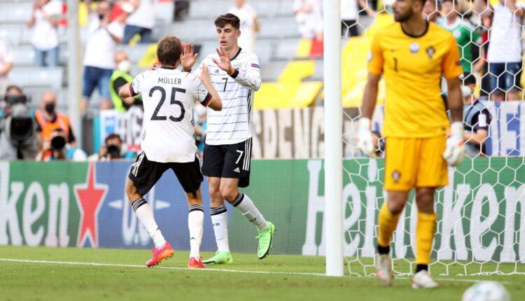 ألمانيا تتأهل إلى دور الثمن النهائي من بطولة اليورو