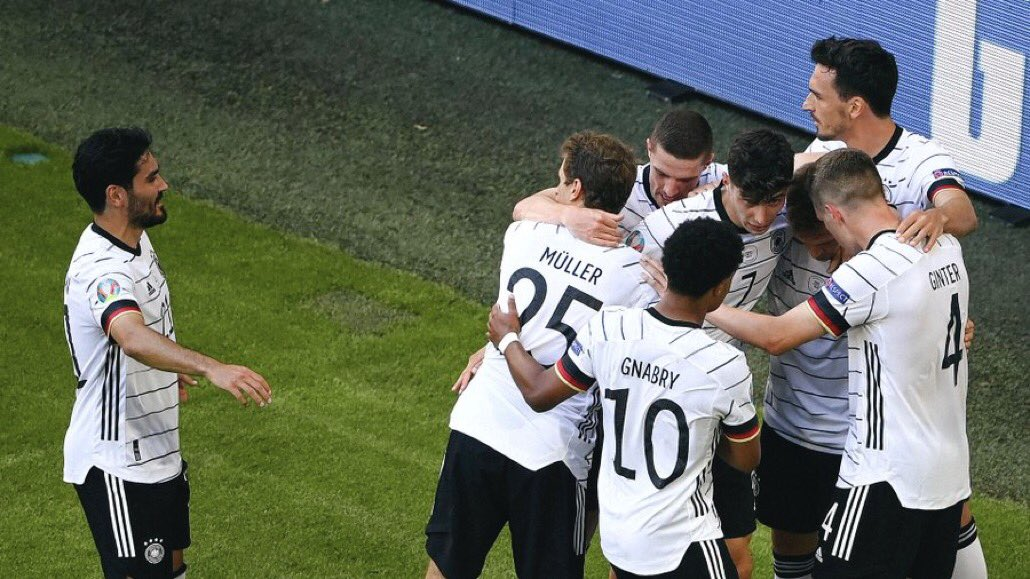 مباراة ألمانيا والبرتغال في بطولة اليورو
