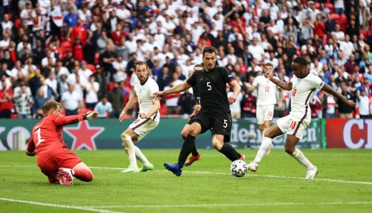 مباراة إنجلترا وألمانيا في اليورو