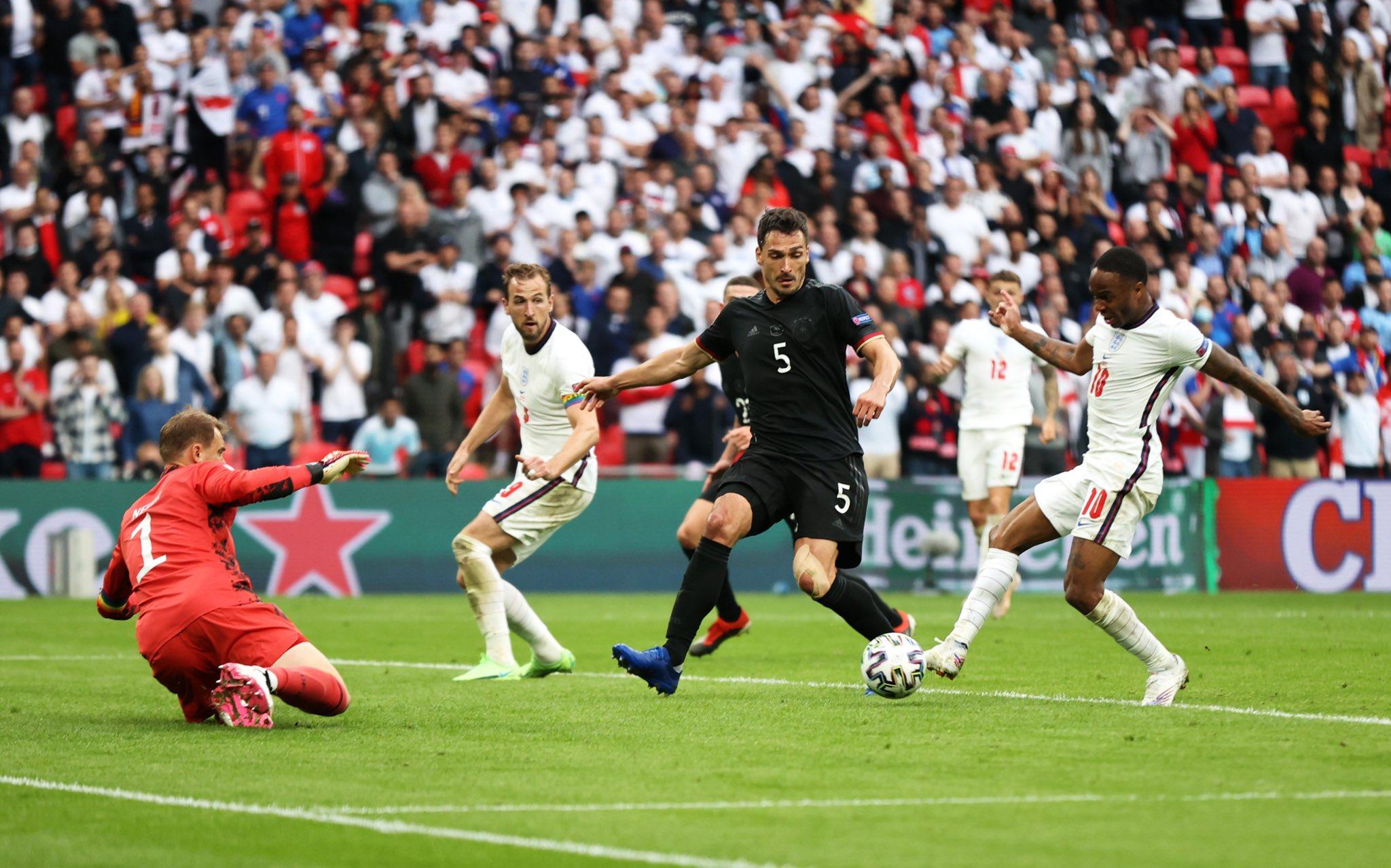 إنجلترا تتأهل وألمانيا تودع بطولة اليورو في مباراة مجنونة ومثيرة (شاهد)