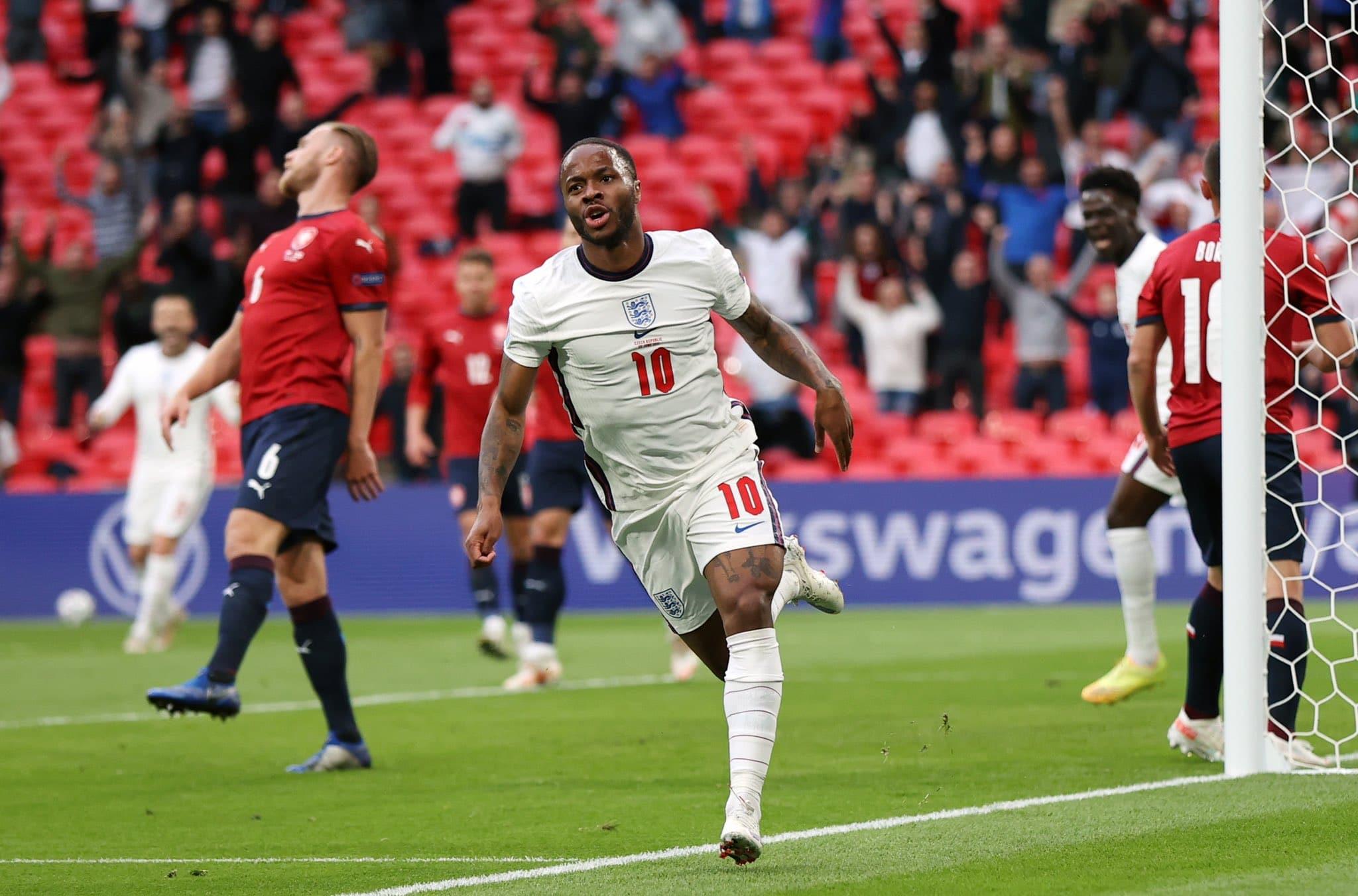 مباراة منتخب إنجلترا والتشيك