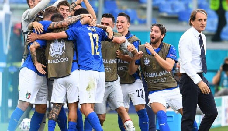 منتخب إيطاليا وتحطيم الرقم القياسي في اليورو