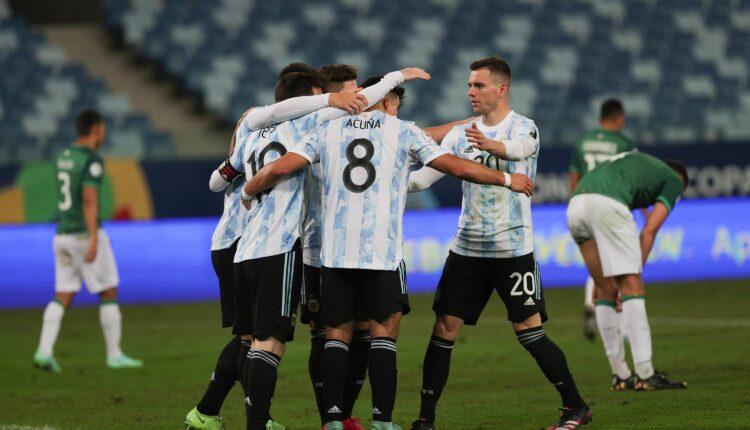 مباراة الأرجنتين وبوليفيا في كوبا أمريكا