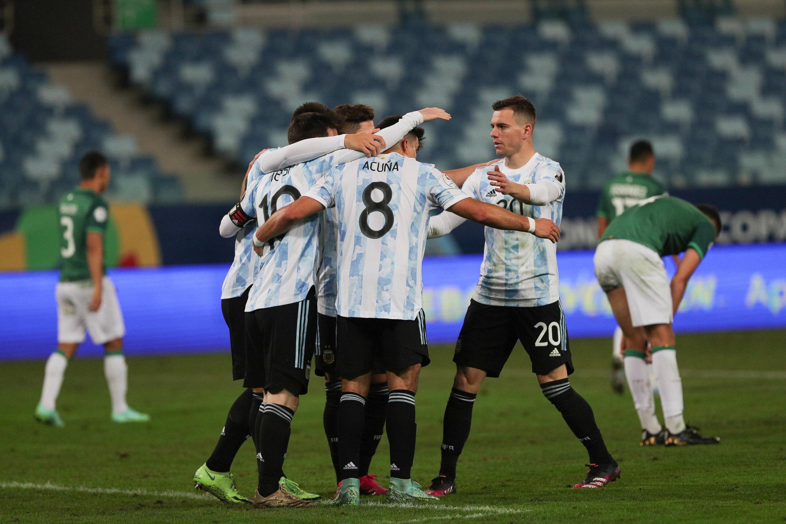 الأرجنتين تهزم بوليفيا وتتأهل إلى الربع النهائي في كوبا أمريكا