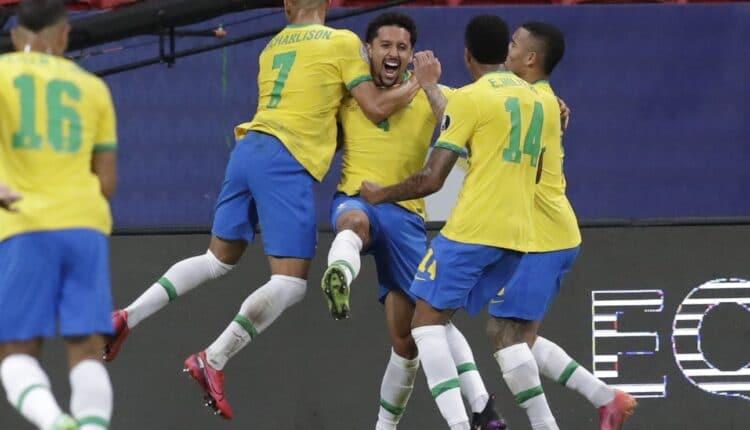 مباراة البرازيل وفنزويلا في بطولة كوبا أمريكا