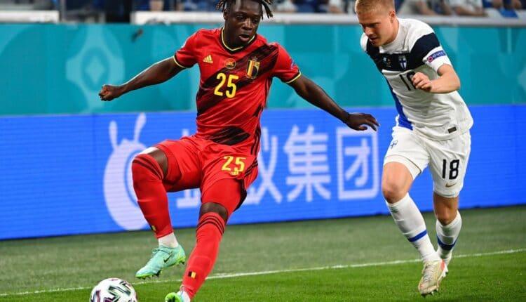 مباراة بلجيكا وفنلندا في بطولة اليورو