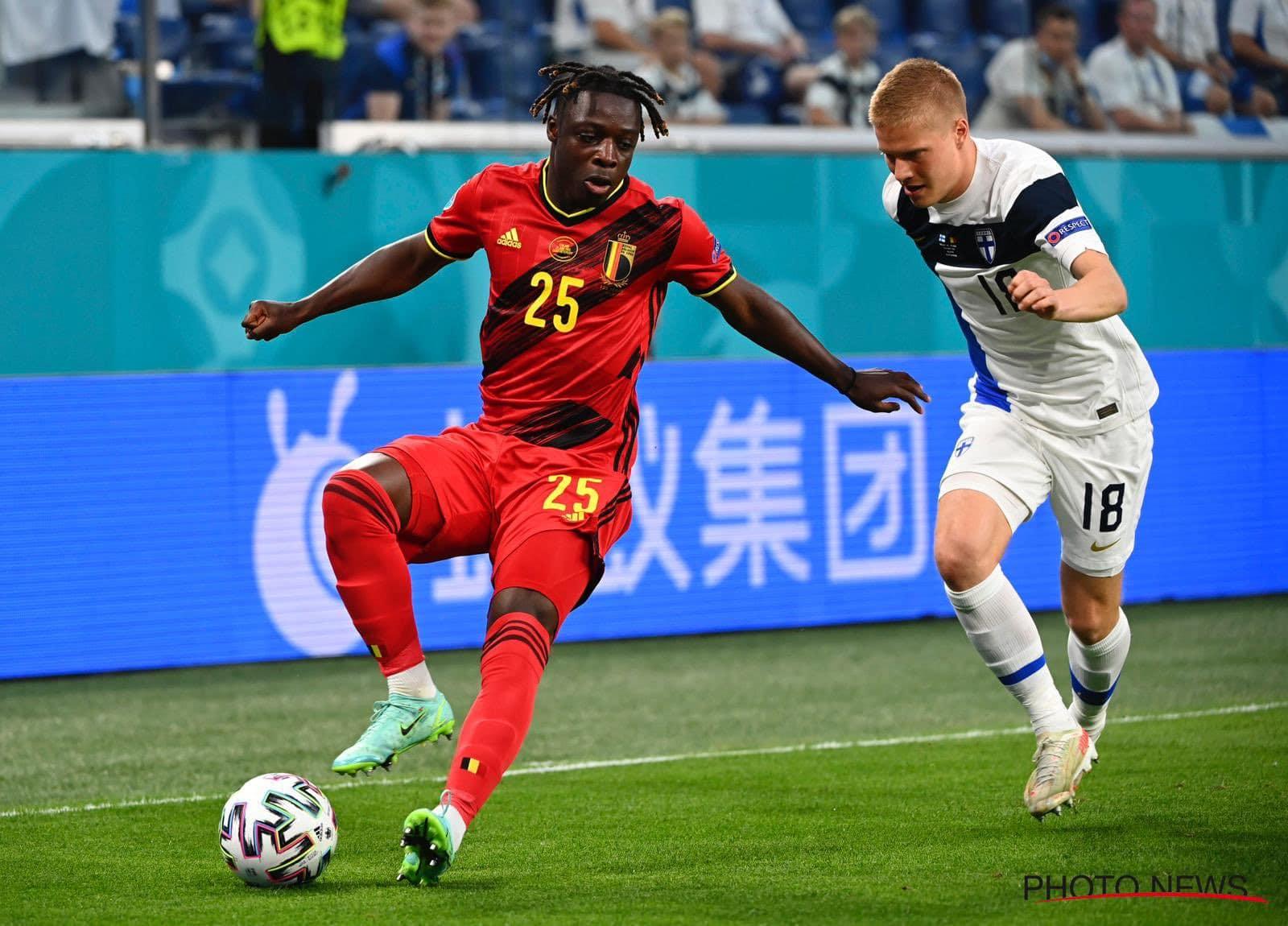 بلجيكا يقسو على فنلندا بثنائية نظيفة ويتأهل إلى الثمن النهائي من بطولة اليورو
