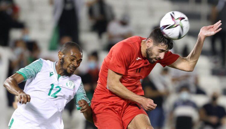 مباراة منتخب فلسطين وجزر القمر