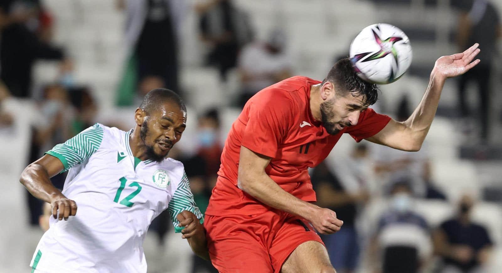 منتخب فلسطين يتأهل إلى نهائيات كأس العرب بعد هزيمته جزر القمر (شاهد)