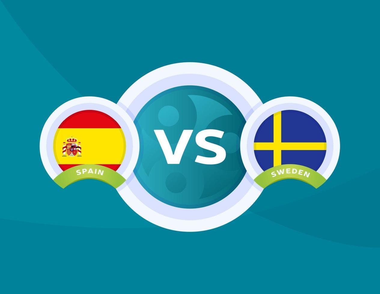 مباراة منتخب إسبانيا والسويد