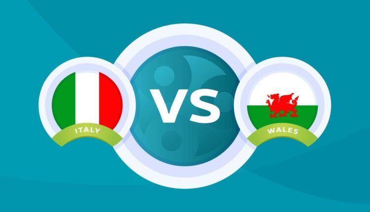 مباراة إيطاليا ويلز في بطولة اليورو