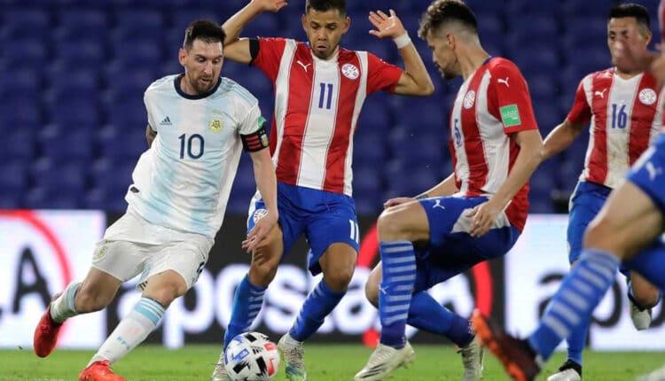 مباراة الأرجنتين والباراغواي