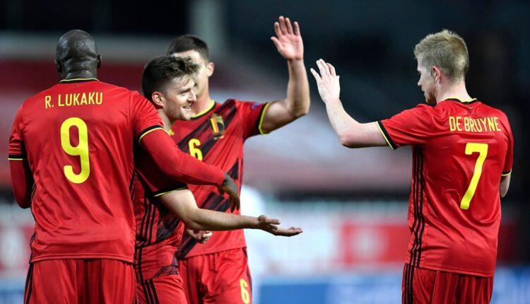 مباراة بلجيكا والدنمارك في اليورو