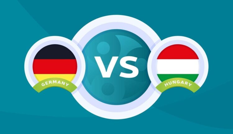 مباراة منتخب ألمانيا ومنافسه المجر في بطولة اليورو