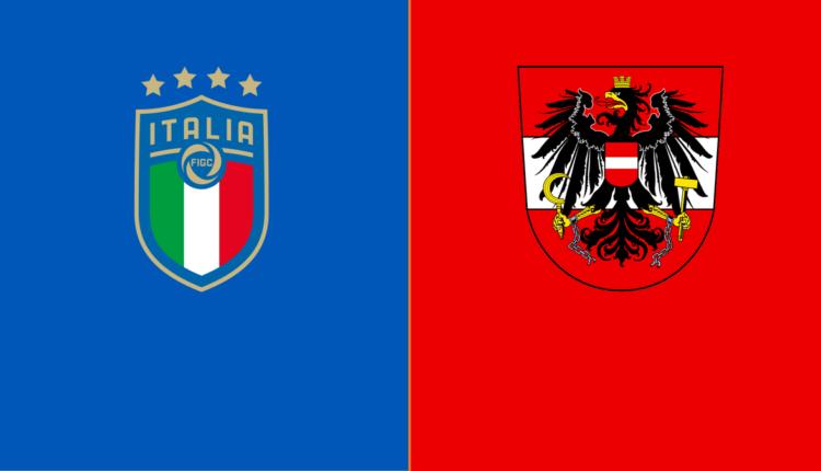 مباراة منتخب إيطاليا والنمسا في بطولة اليورو