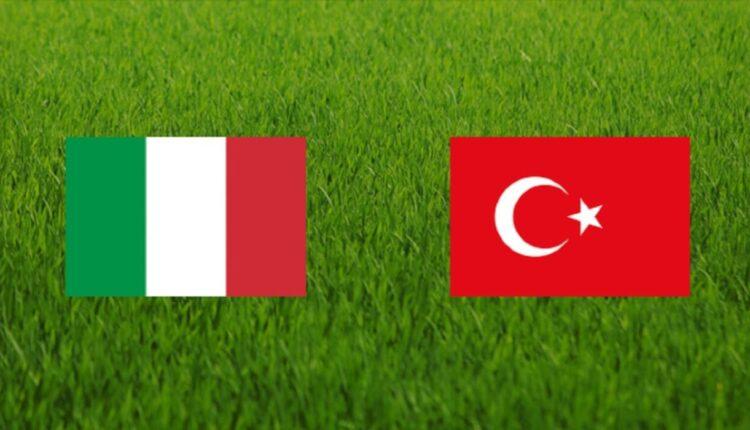 مباراة منتخب إيطاليا وتركيا والقنوات الناقلة
