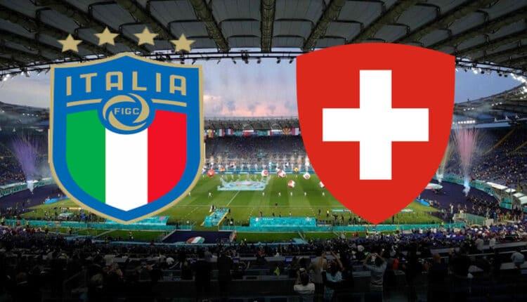 مباراة منتخب إيطاليا وسويسرا
