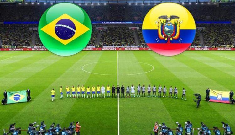 مباراة البرازيل والإكوادور في بطولة كوبا أمريكا