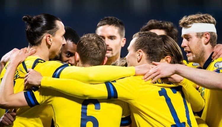 مباراة منتخب السويد وأوكرانيا في بطولة اليورو