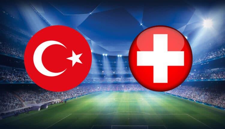 مباراة منتخب تركيا وسويسرا