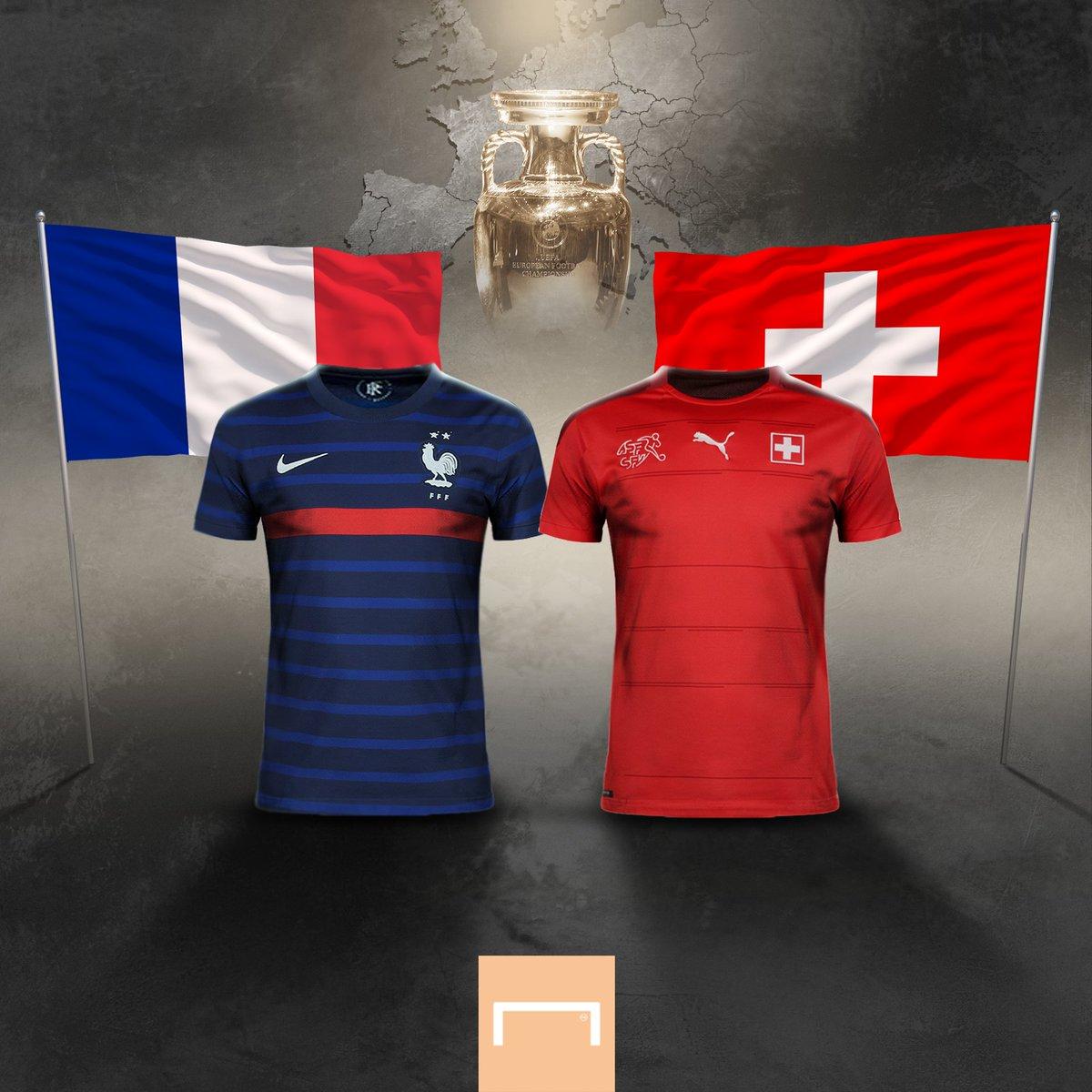 موعد منتخب فرنسا وسويسرا اليوم في اليورو والقنوات الناقلة