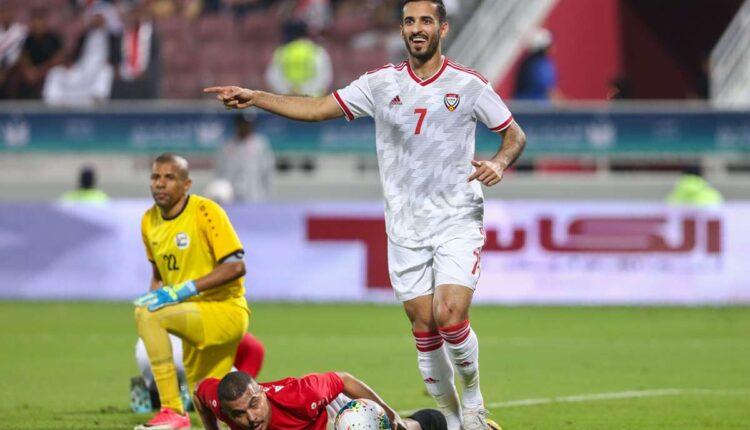 علي مبخوت وتحطيم الرقم القياسي مع منتخب الإمارات
