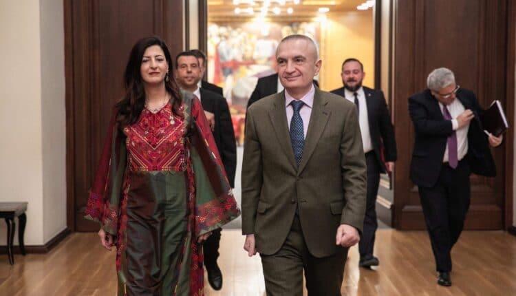 هناء الشوا سفيرة فلسطين في ألبانيا
