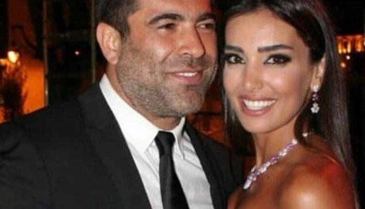 نشر صور حبيبة وائل كفوري في أحضان زوجها الأول